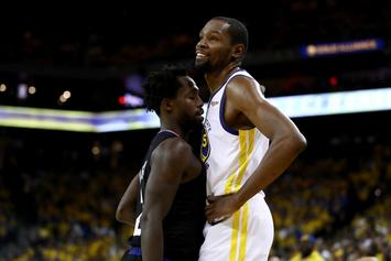 """Kevin Durant's Troll, Patrick Beverley, Says There Is """"No Beef"""""""