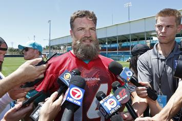 Ryan Fitzpatrick Blames Birthday Cake For Offseason Weight Gain