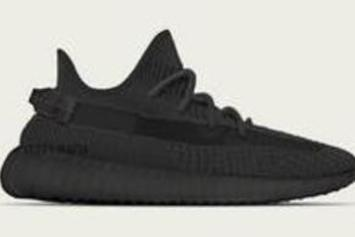 "Adidas Yeezy Boost 350 V2 ""Black Reflective"" Sample Revealed: Details"