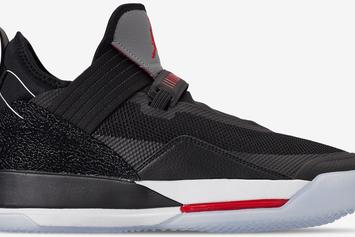 "Air Jordan 33 Low ""Black Cement"" Drops Next Month: Details"