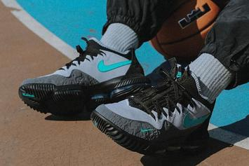 "Atmos x Nike LeBron 16 ""Clear Jade"" Collab Releasing This Weekend"