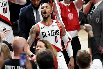 Damian Lillard Waves Goodbye To The Thunder After Last Second Dagger