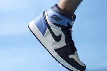 "Air Jordan 1 High OG ""Obsidian/UNC Blue"" Coming Soon: On-Foot Images"
