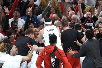 "Damian Lillard's Sister Storms Court After Game-Winner: ""That's My Brother"""