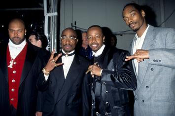Snoop Dogg Posts Throwback Photo With Tupac & Suge Knight