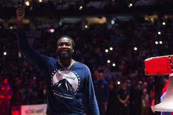 Meek Mill Blocked From Travelling For 76ers' Game By A Vengeful Judge Brinkley