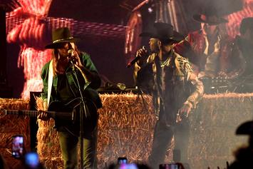 "Lil Nas X & Billy Ray Cyrus Perform ""Old Town Road"" Together With Diplo"