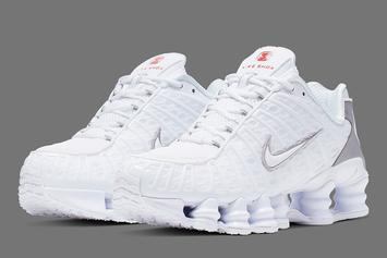 "Nike Shox TL ""White & Silver"" Release Date Confirmed: Official Images"