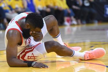 James Harden's Eye Injury Yields No Damage To His Cornea