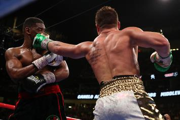 Canelo Alvarez Outboxes Daniel Jacobs To Unify All The Middleweight Belts