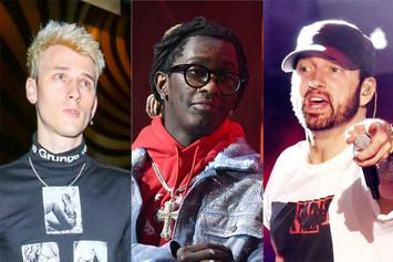"Young Thug Says Machine Gun Kelly ""Murdered"" Eminem"