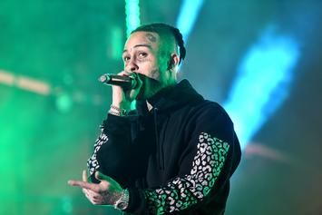 Lil Skies Falls Off Stage While On Tour With Lil Pump