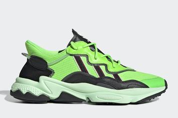 "Adidas Ozweego Gets Flashy With ""Neon Green"" Colorway: Official Images"