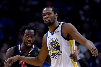 """Kevin Durant """"Is The Best Player In The NBA,"""" Says Patrick Beverley"""