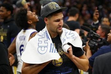 "Stephen A. Smith: Klay Thompson Isn't Happy, Tired Of Getting ""The Crumbs"""