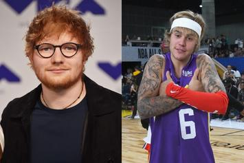 "Justin Bieber & Ed Sheeran Bring Melodies In ""I Don't Care"" Tease"