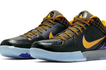 "Kobe Bryant's ""Carpe Diem"" Nike Kobe 4 Returning To Retailers"