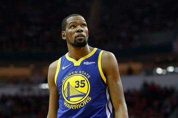 """Kevin Durant Suffered """"Mild"""" Calf Strain, Could Return For West Finals: Report"""