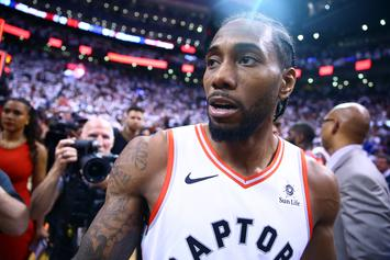 Kawhi Leonard Hits First Game 7 Buzzer-Beater In NBA History, Twitter Reacts