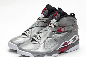 "Air Jordan 8 ""Reflections Of A Champion"" Release Date, New Images"
