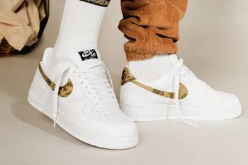 "Nike Air Force 1 Low ""Ivory Snake"" Returns Over 20 Years After Debut"