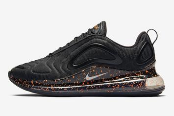 Nike Air Max 720 Receives Orange Speckled Colorway: Details