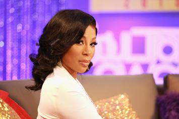 "K. Michelle & ""The Cussing Pastor"" Engage In Screaming Match At Restaurant"