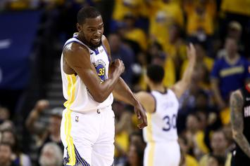 "Kevin Durant Is Reportedly ""Not Close"" To Returning To Action"