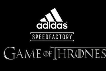 Game Of Thrones x Adidas Speedfactory Releasing Soon