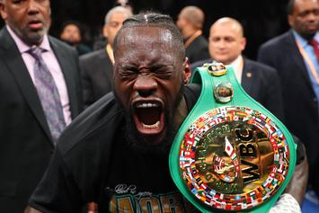 Deontay Wilder Defeats Dominic Breazeale With Brutal First-Round KO