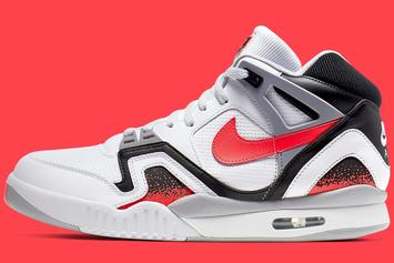"Nike Air Tech Challenge 2 Returning In OG ""Hot Lava"" Colorway: Photos"