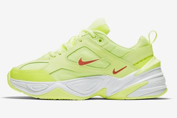 "Nike's M2K Tekno Dad Shoe Gets Dressed In ""Volt:"" Official Photos"