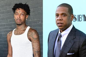 "21 Savage Declares Jay-Z The Undisputed ""GOAT"""