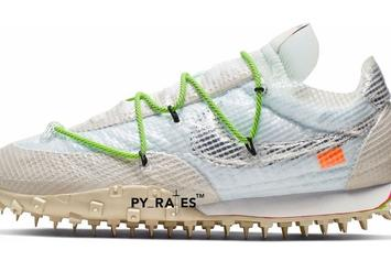 Off-White X Nike Waffle Racer First Colorway Revealed: Photos
