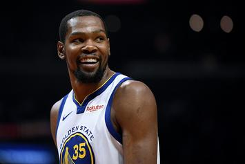 """Kevin Durant Calls BS On Chris Broussard: """"You Don't Have My Number Man"""""""