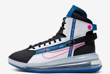 "Nike Air Max 720 Saturn ""Royal & Pink"" Coming Soon: Official Photos"