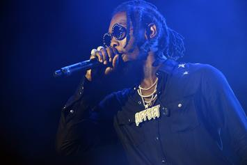 Offset Blesses 12-Year Old's Bar Mitzah In Moscow: Watch