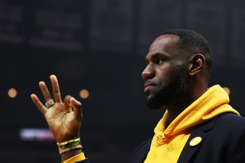 LeBron James Schools 14-Year-Old In Three-Point Shooting Contest