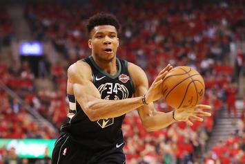 Giannis Antetokounmpo Receives Heroes Welcome From Bucks Fans