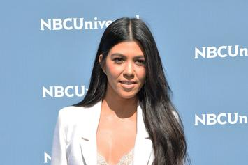 Kourtney Kardashian Advocates For Menstrual Hygiene Day With Black & White Bikini Pic