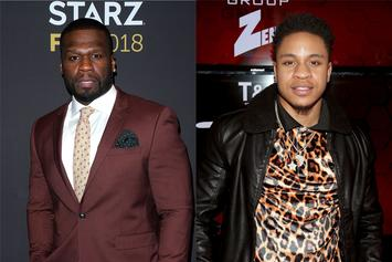 "50 Cent Virtually Pulls Up On Rotimi: ""I Want To Punch This N***a Nose"""