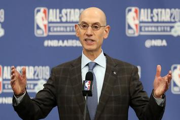 Adam Silver Comments On Lakers Dysfunction And Rich Paul Conversation