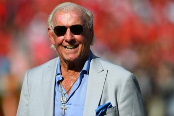 "Ric Flair Says Recent Surgery Added Years To His Life: ""I Could Live To Be 95"""