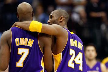 "Lamar Odom Praises Kobe Bryant As The ""Father Figure"" He Never Had"