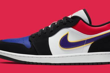 Air Jordan 1 Low Appears In Vibrant Colorway: Official Photos
