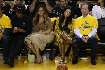 Beyonce's Epic Side-Eye To Warriors' Owner's Wife Becomes A Petty Meme