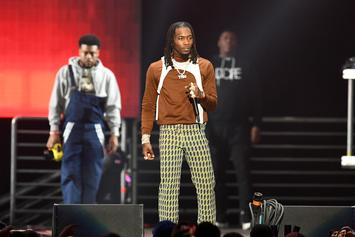 Offset Shares Adorable Video Of Him & Kulture Exchanging Kisses
