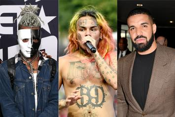 XXXTentacion, 6ix9ine, Drake & More Lead Billboard's 2018 Top Songwriters List
