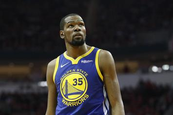 """Warriors Employee Claims It's """"Killing"""" Kevin Durant That He Can't Play"""