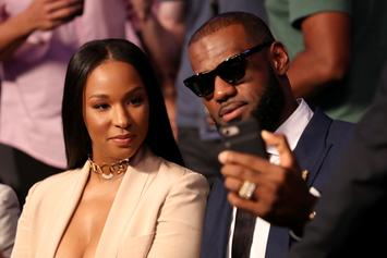 LeBron James Exposed By His Wife For Failure To Climb Pool Float